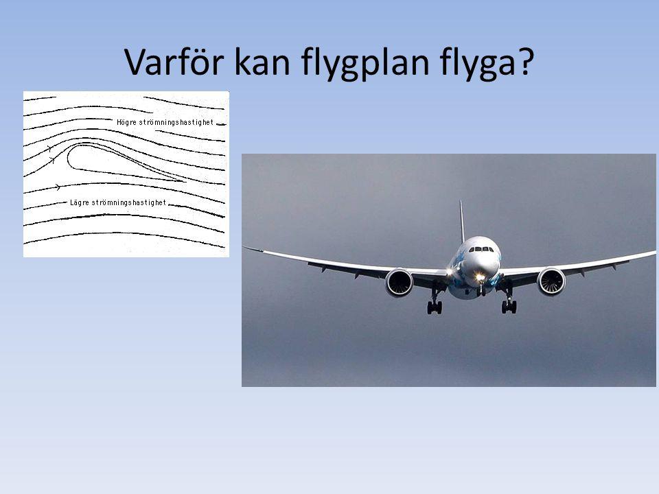 Varför kan flygplan flyga