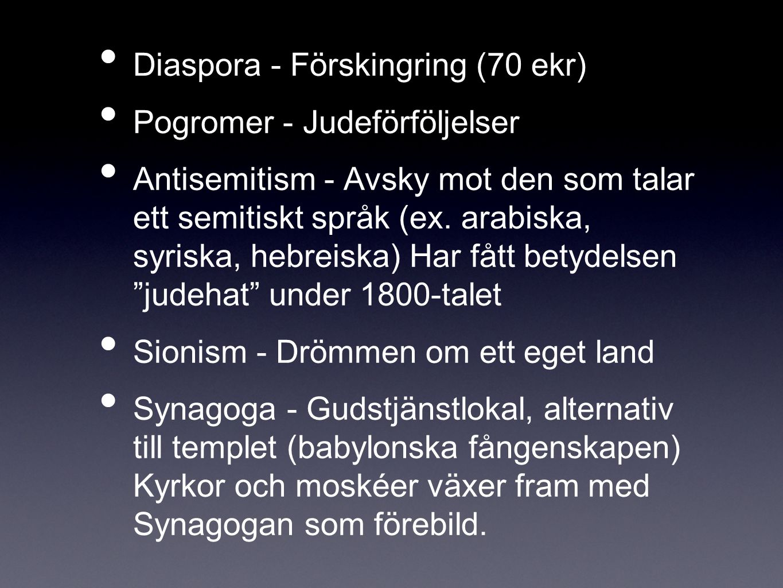Diaspora - Förskingring (70 ekr)