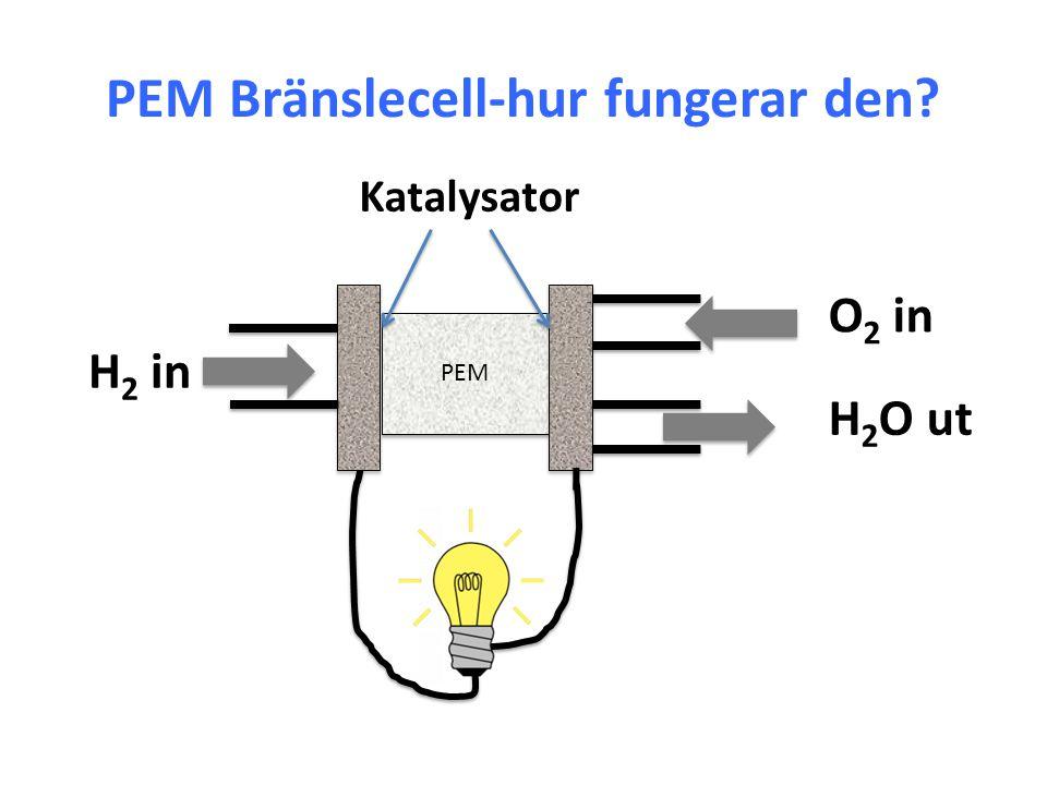 PEM Bränslecell-hur fungerar den