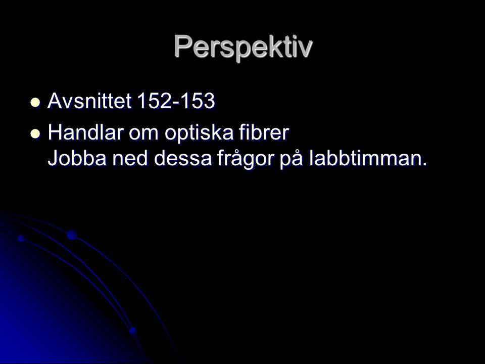 Perspektiv Avsnittet 152-153