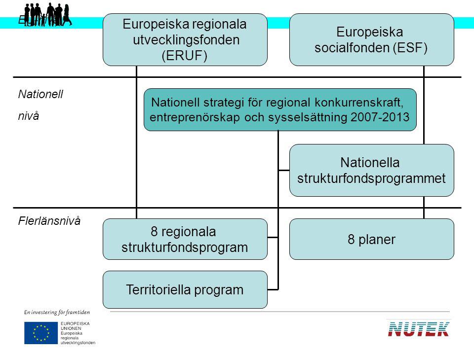 Europeiska socialfonden (ESF)