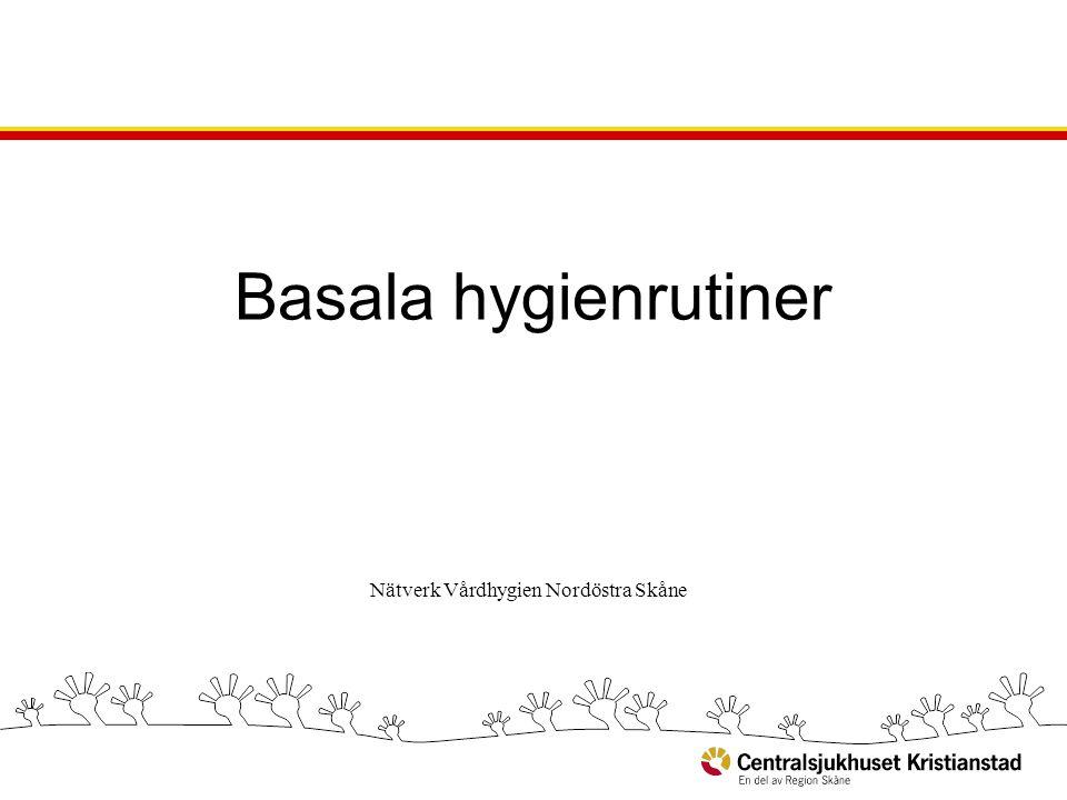 Nätverk Vårdhygien Nordöstra Skåne