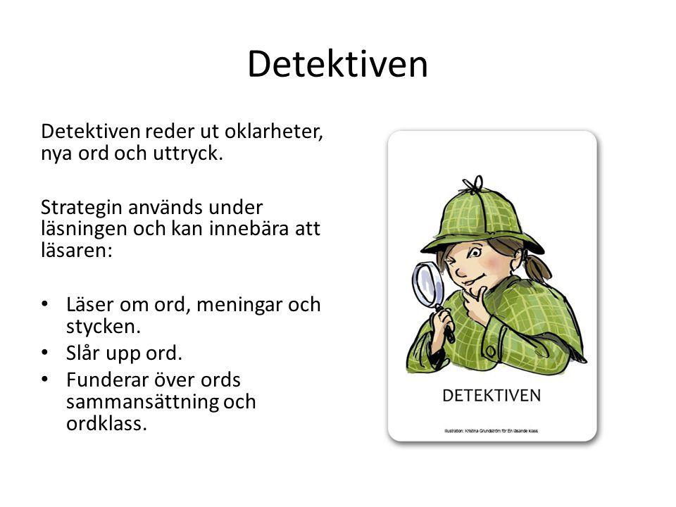 Detektiven Detektiven reder ut oklarheter, nya ord och uttryck.