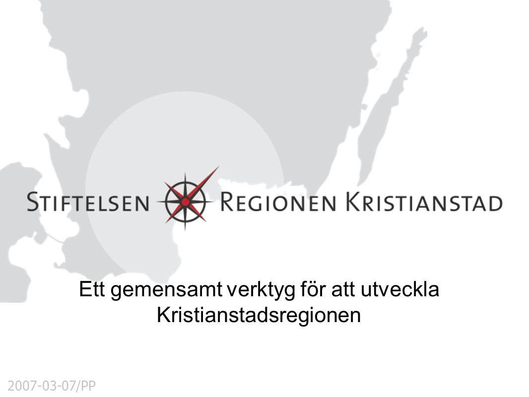 Ett gemensamt verktyg för att utveckla Kristianstadsregionen
