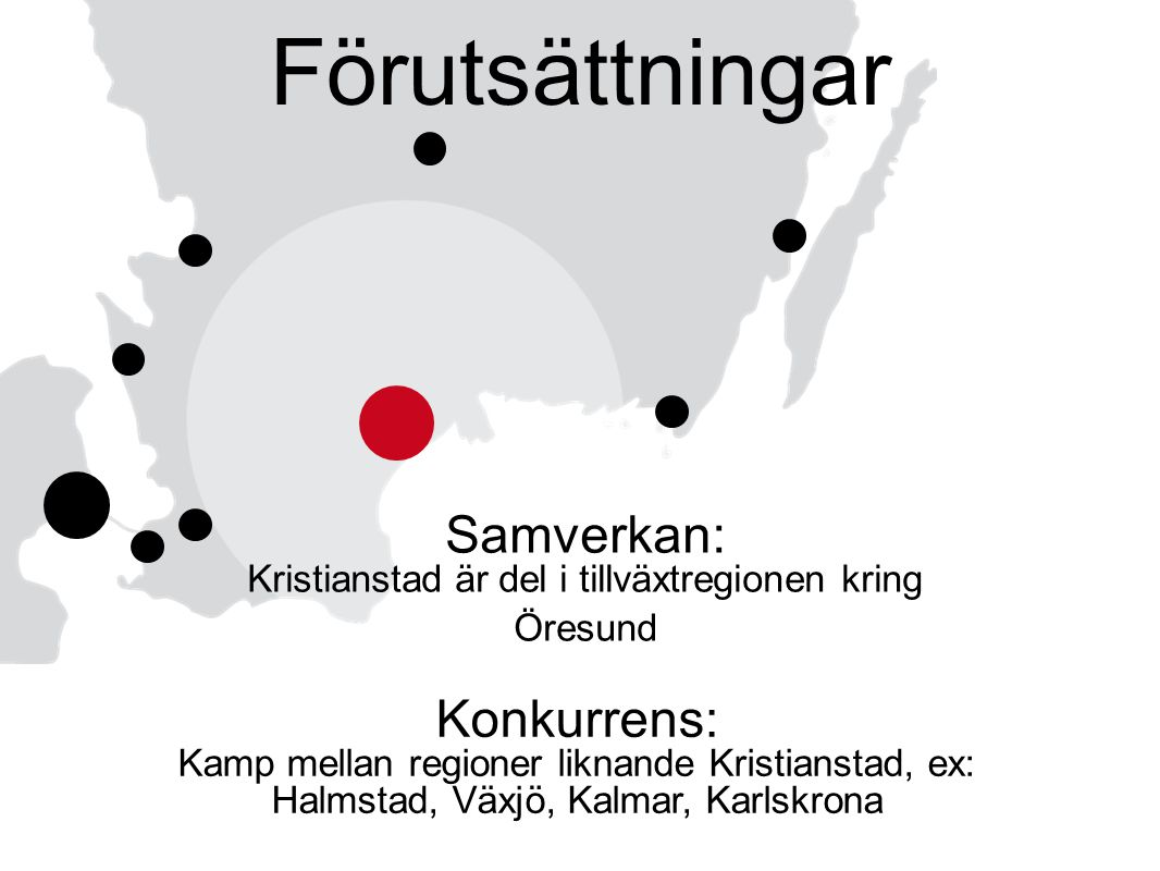 Samverkan: Kristianstad är del i tillväxtregionen kring