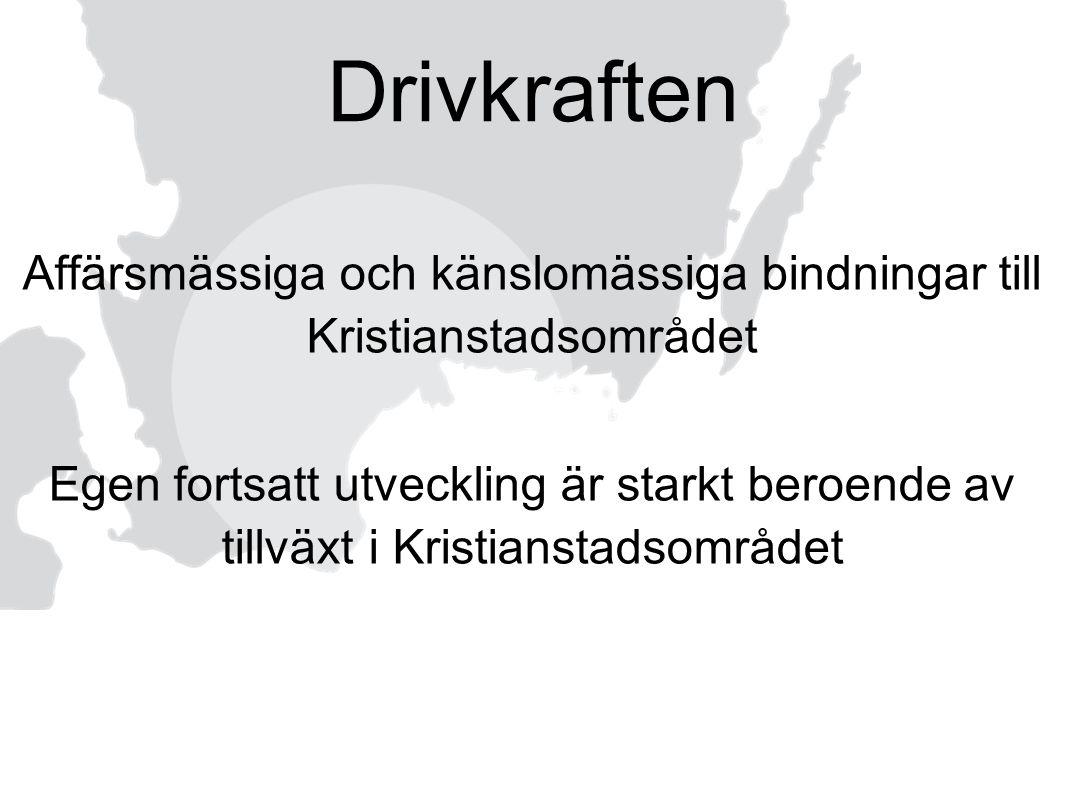 Affärsmässiga och känslomässiga bindningar till Kristianstadsområdet