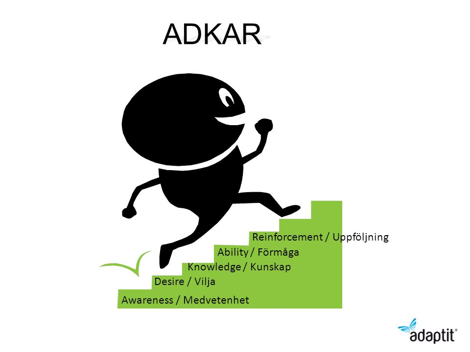 ADKAR Reinforcement / Uppföljning Ability / Förmåga