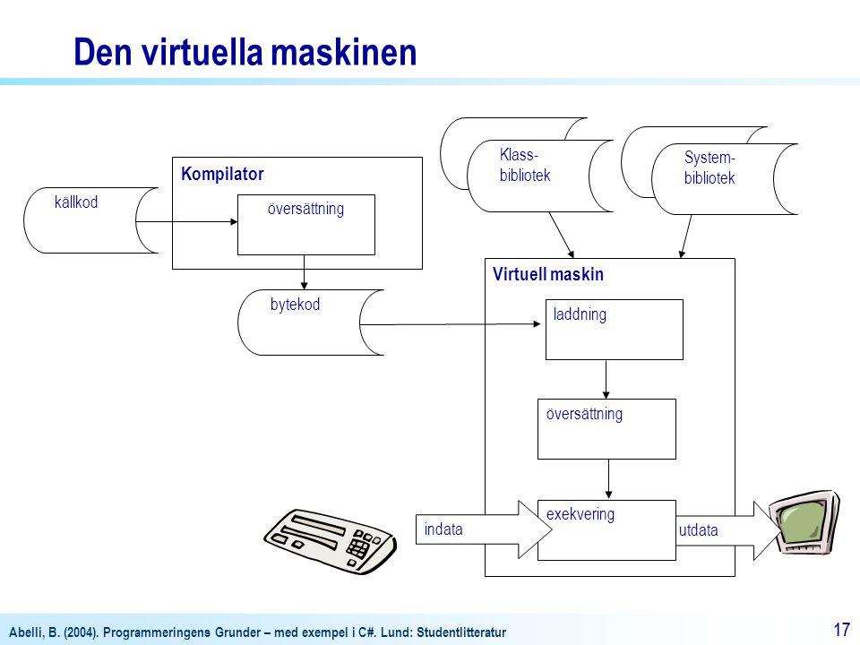 Den virtuella maskinen