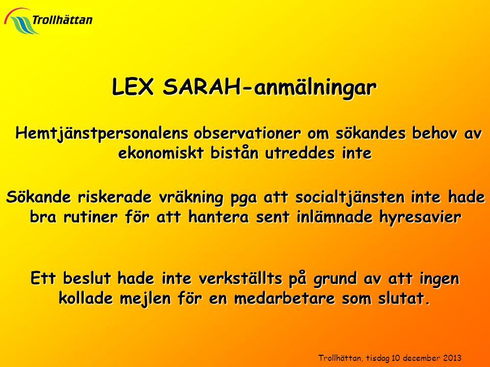 LEX SARAH-anmälningar