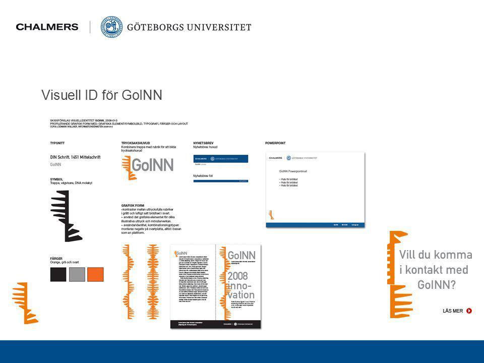 Visuell ID för GoINN