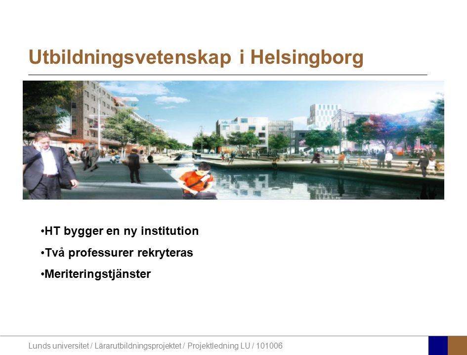 Utbildningsvetenskap i Helsingborg