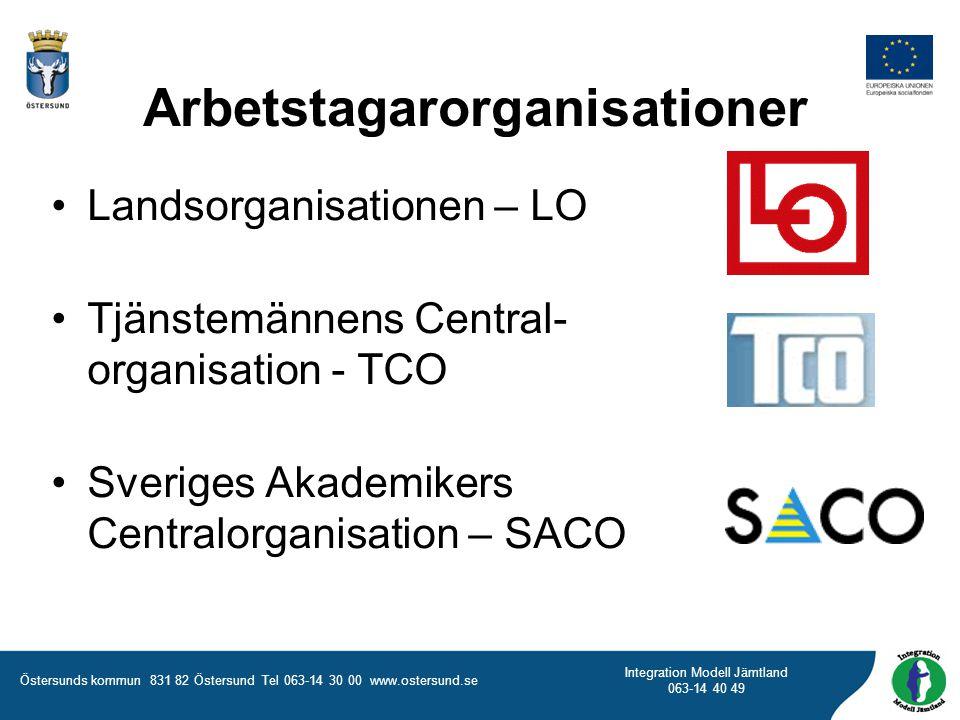 Arbetstagarorganisationer