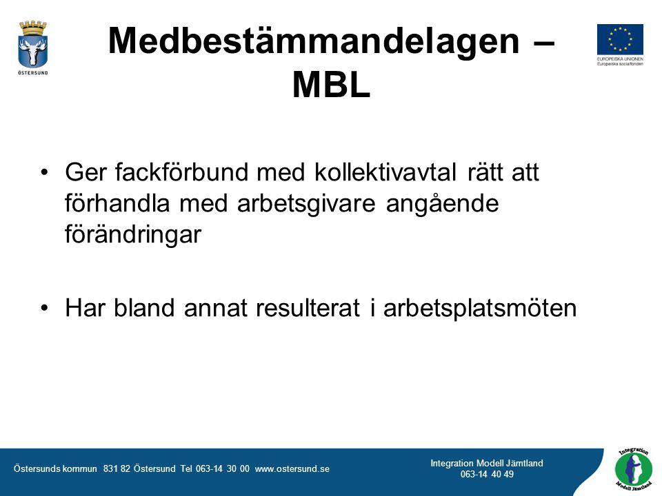Medbestämmandelagen – MBL
