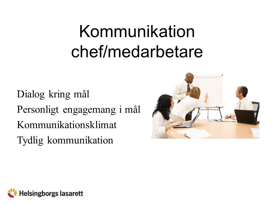 Kommunikation chef/medarbetare