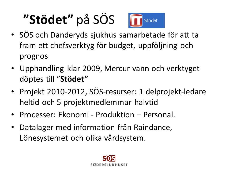 Stödet på SÖS SÖS och Danderyds sjukhus samarbetade för att ta fram ett chefsverktyg för budget, uppföljning och prognos.
