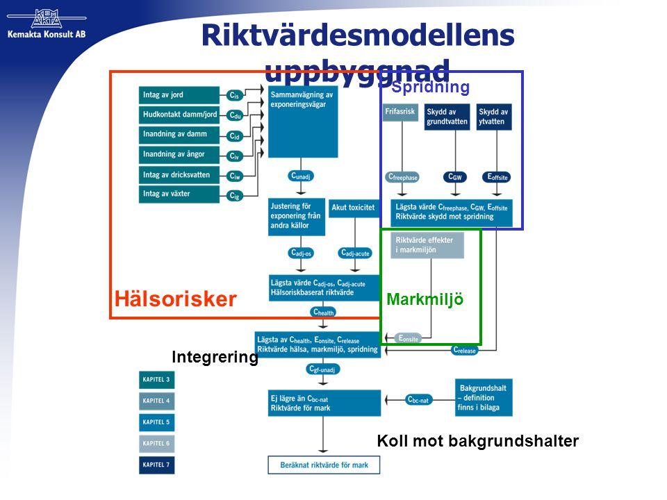 Riktvärdesmodellens uppbyggnad