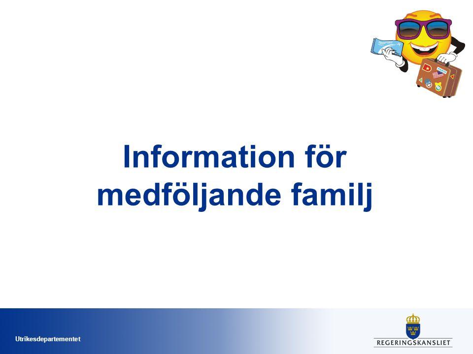 Information för medföljande familj
