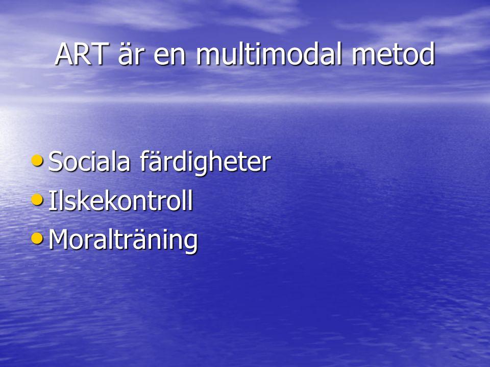 ART är en multimodal metod