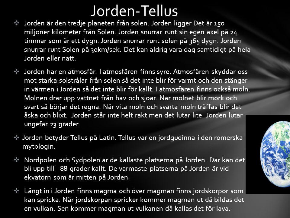 Jorden-Tellus