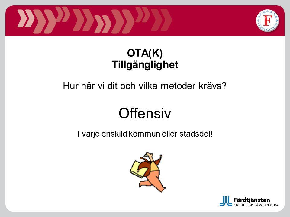 OTA(K) Tillgänglighet