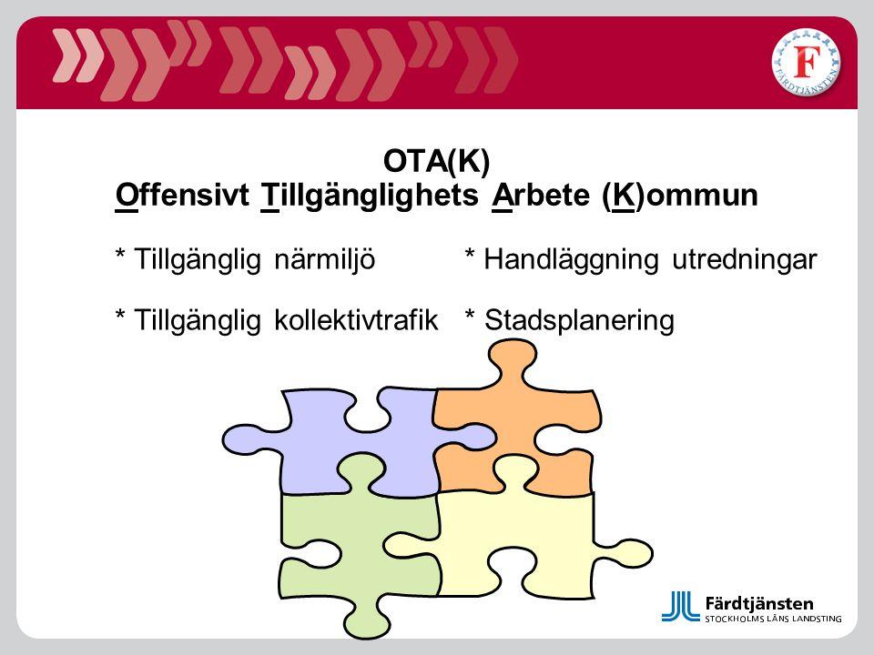 OTA(K) Offensivt Tillgänglighets Arbete (K)ommun