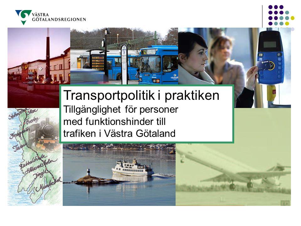Transportpolitik i praktiken