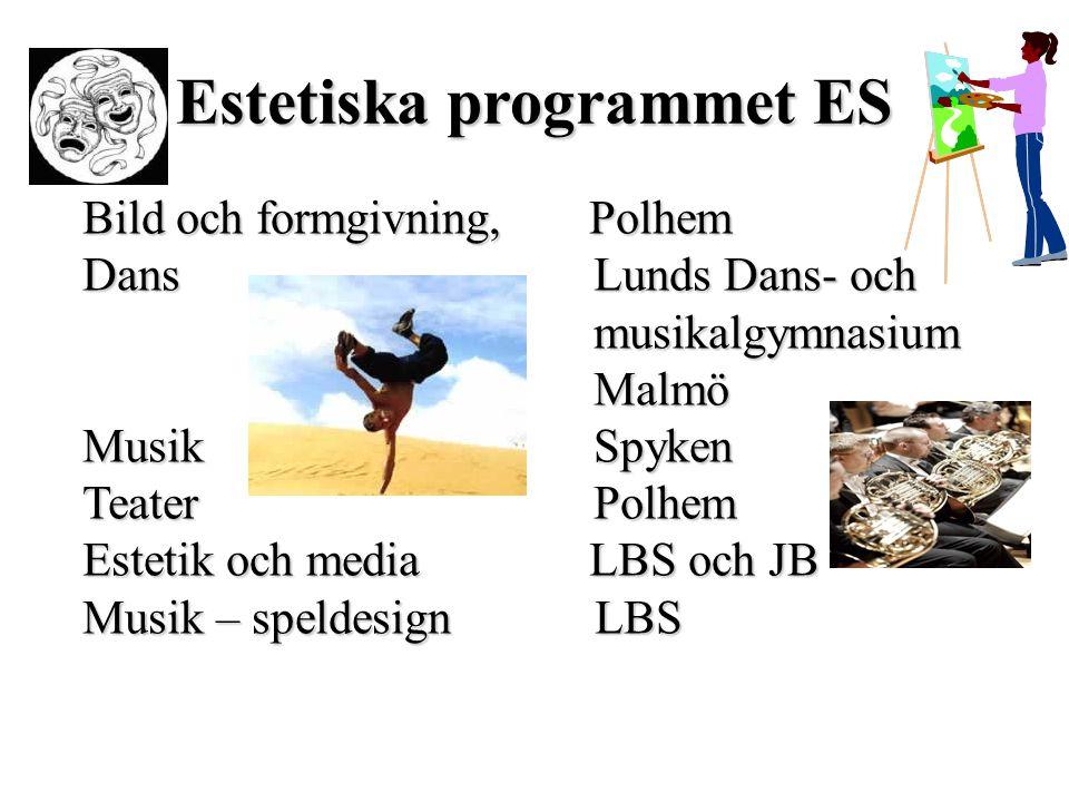 Estetiska programmet ES