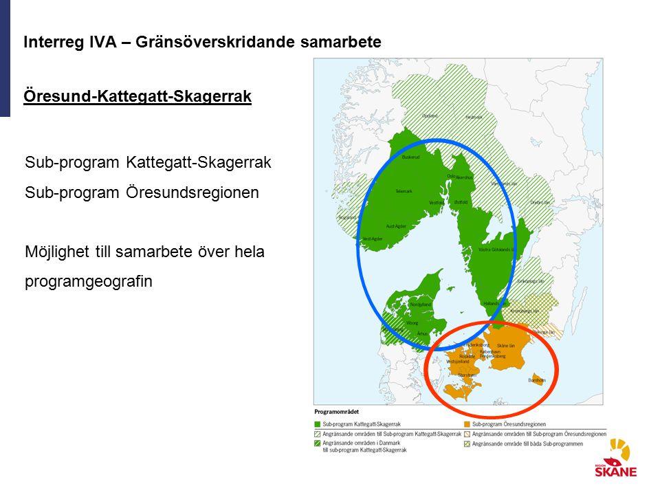 Interreg IVA – Gränsöverskridande samarbete