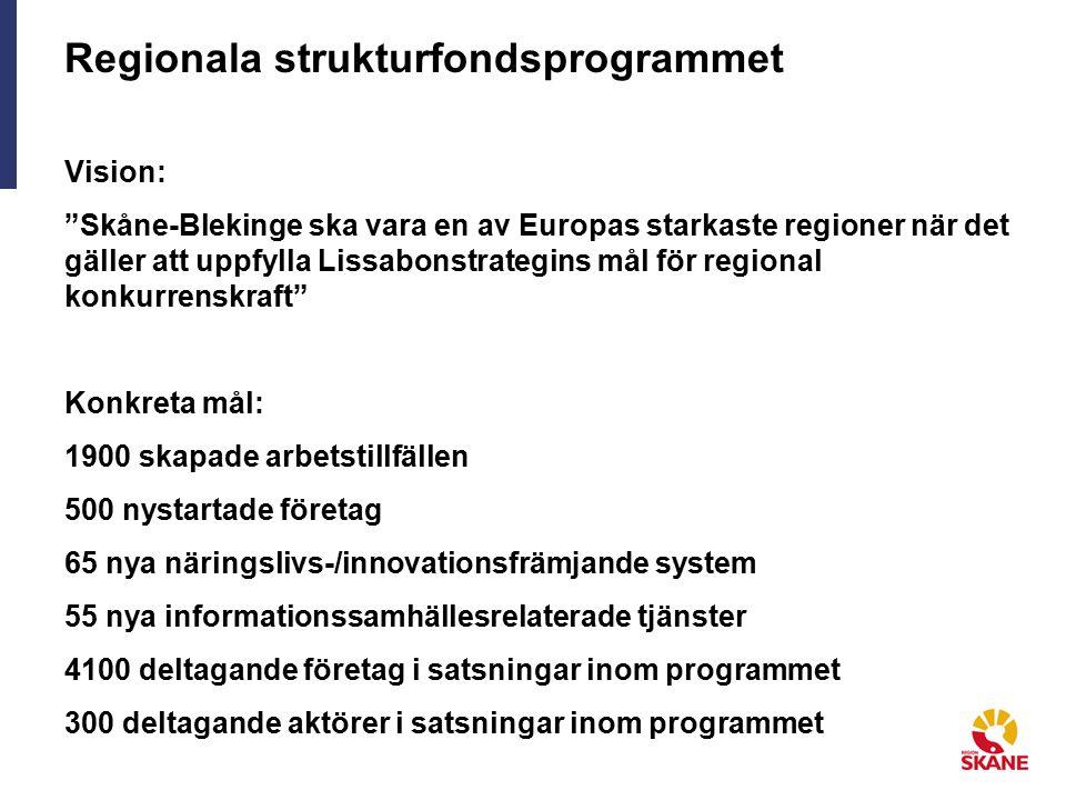 Regionala strukturfondsprogrammet