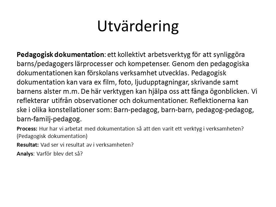 Utvärdering
