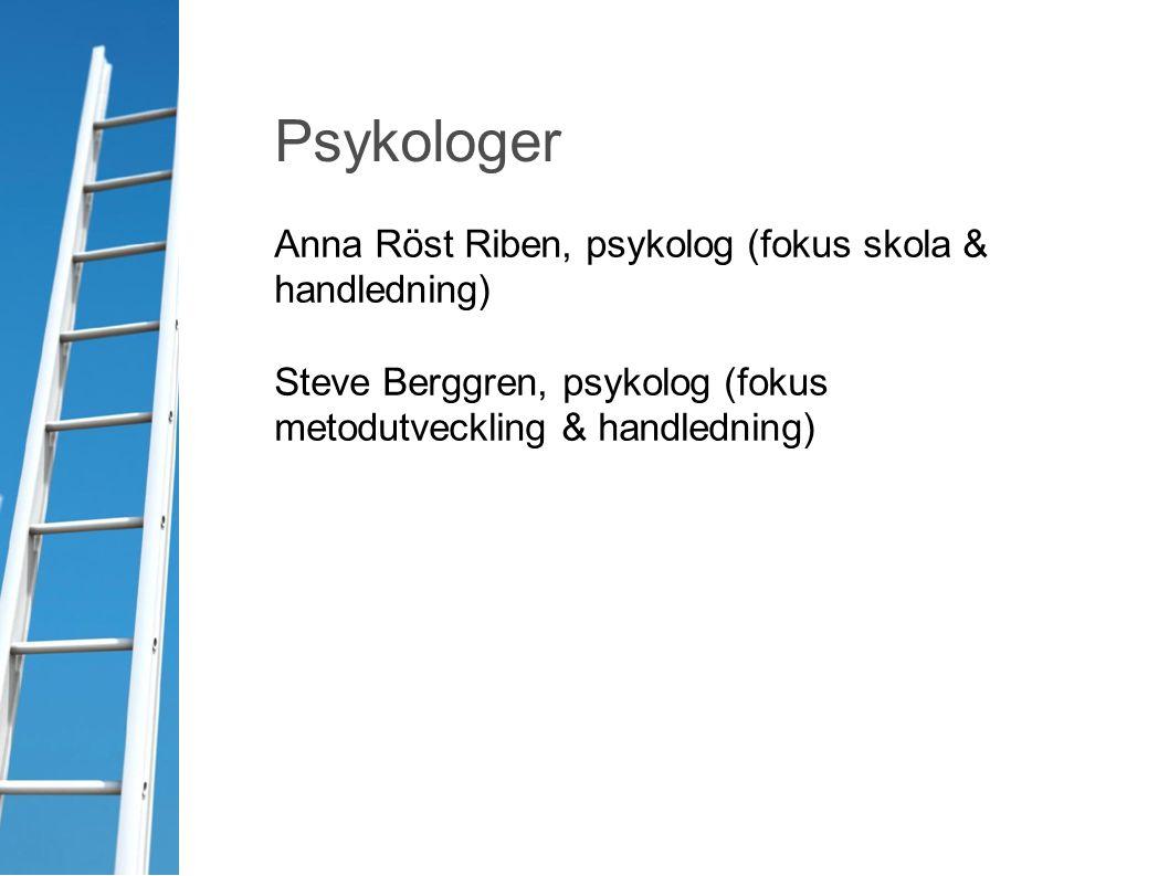 Psykologer Anna Röst Riben, psykolog (fokus skola & handledning)