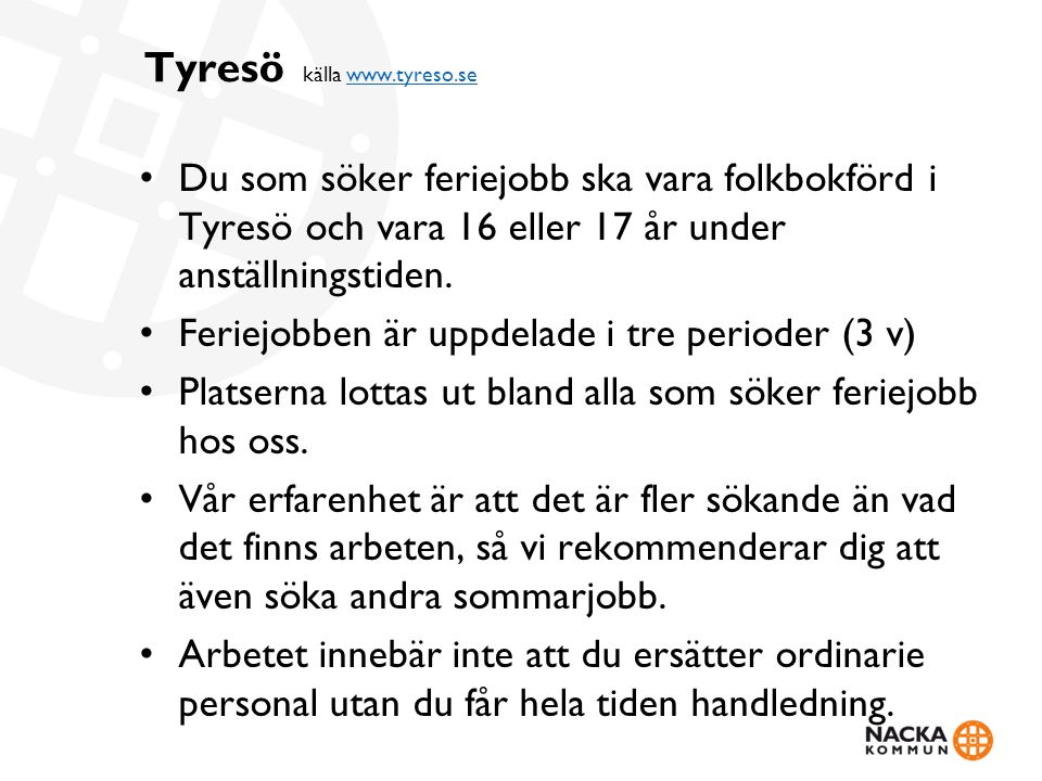 Tyresö källa www.tyreso.se