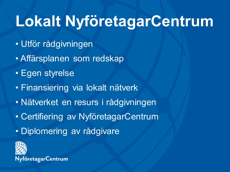 Lokalt NyföretagarCentrum