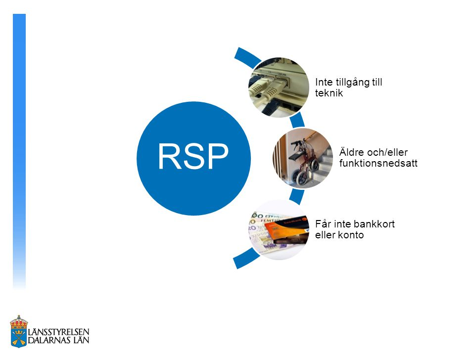 RSP Inte tillgång till teknik Äldre och/eller funktionsnedsatt