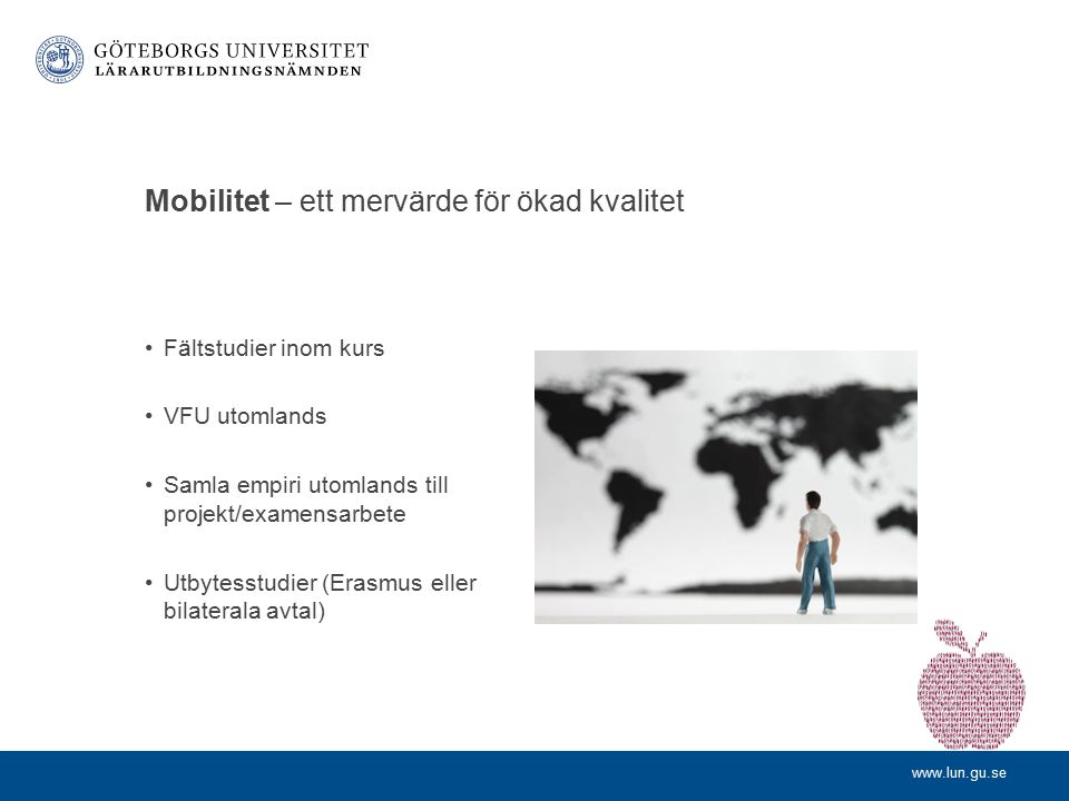 Mobilitet – ett mervärde för ökad kvalitet