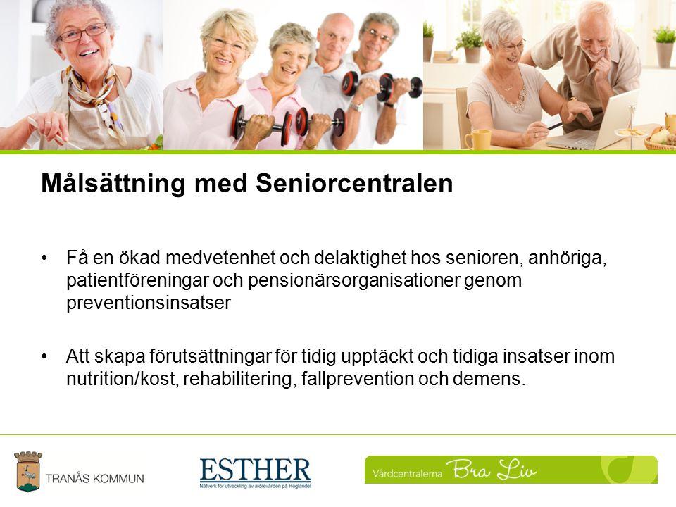 Målsättning med Seniorcentralen