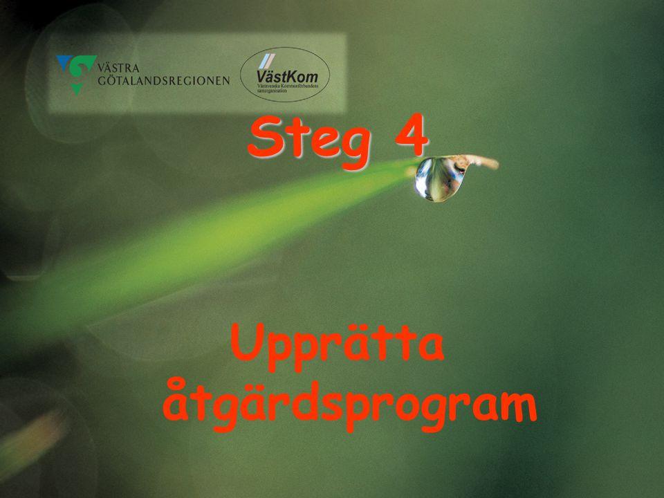 Upprätta åtgärdsprogram