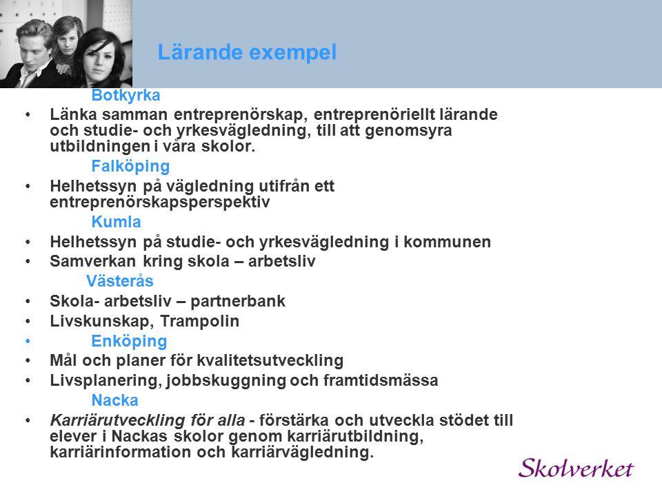 Lärande exempel Botkyrka.