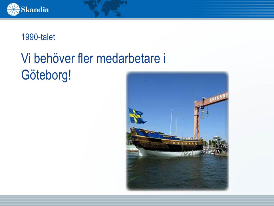 Vi behöver fler medarbetare i Göteborg!