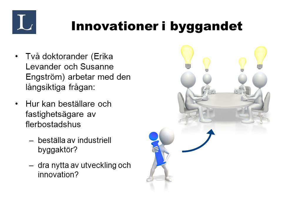Innovationer i byggandet