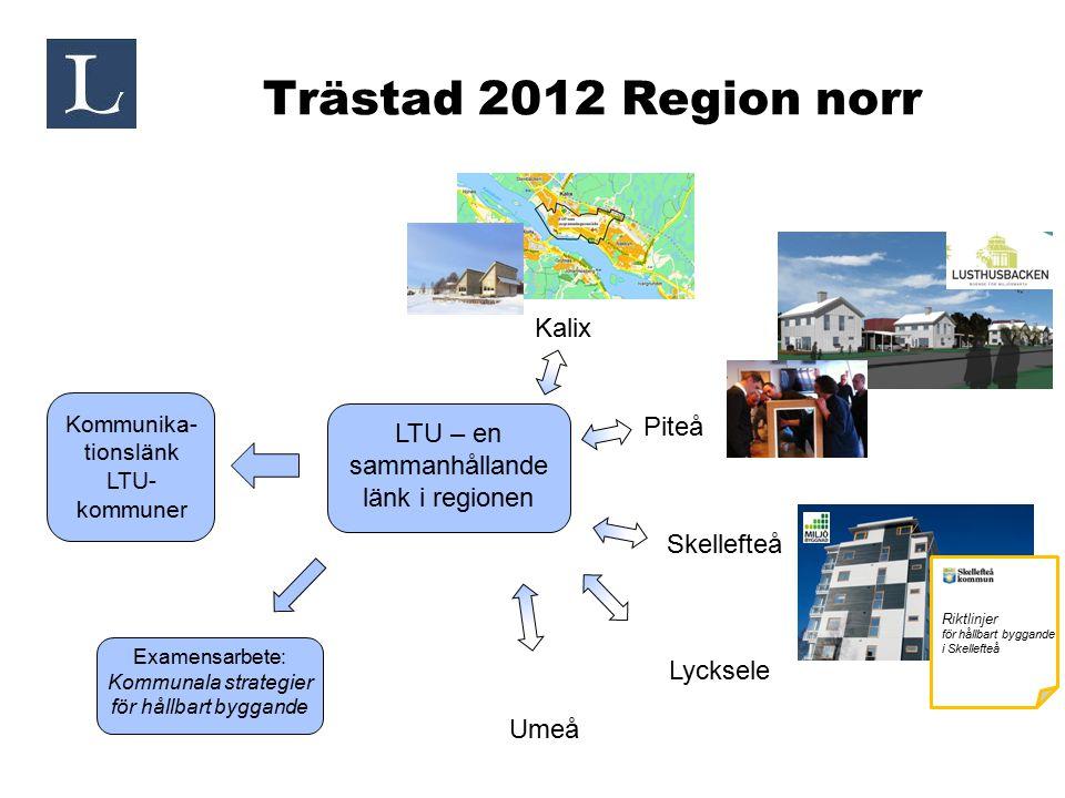 Trästad 2012 Region norr Kalix Piteå