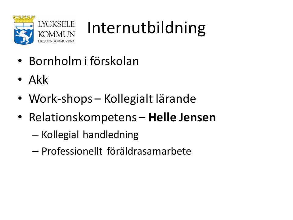 Internutbildning Bornholm i förskolan Akk