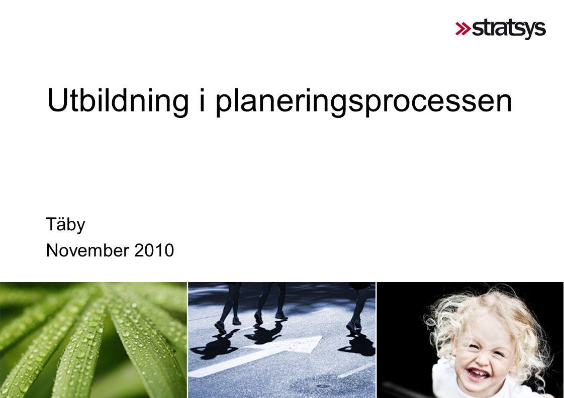 Utbildning i planeringsprocessen