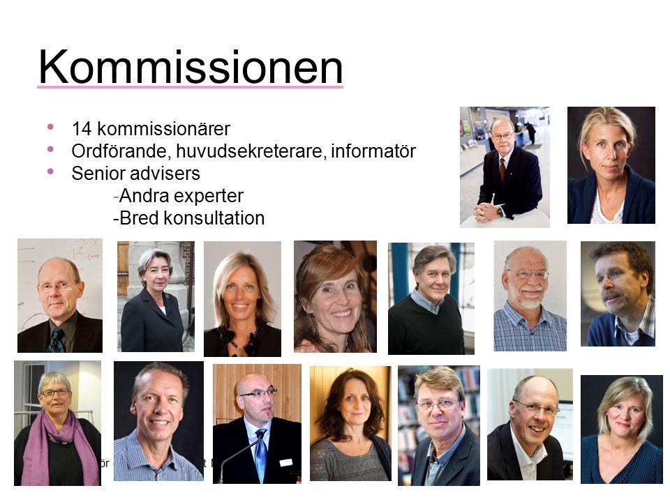 Kommissionen 14 kommissionärer