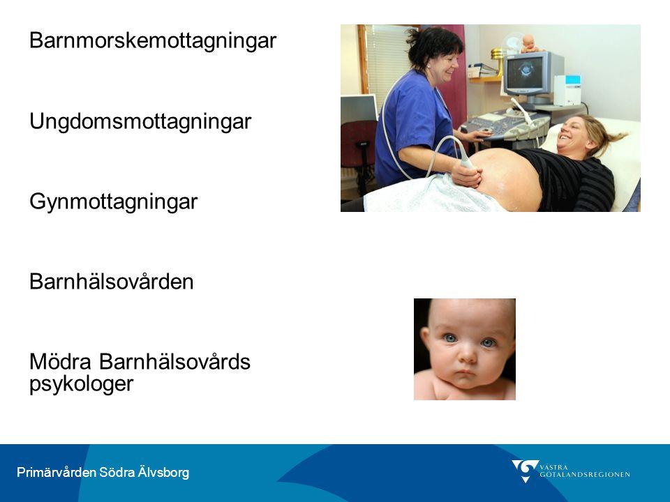 Barnmorskemottagningar