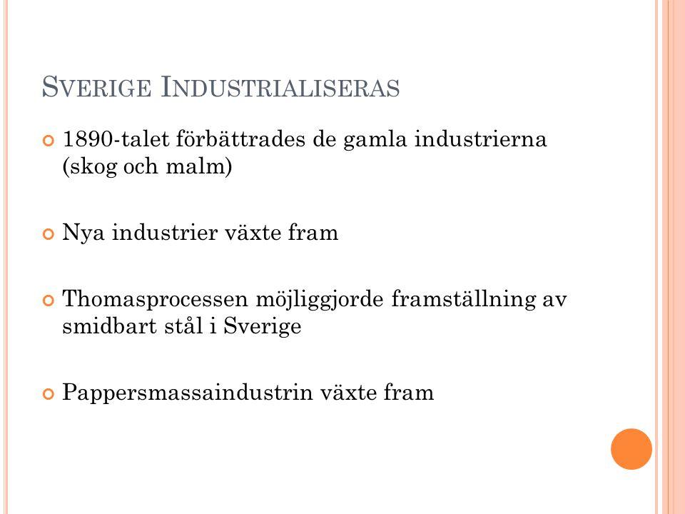 Sverige Industrialiseras