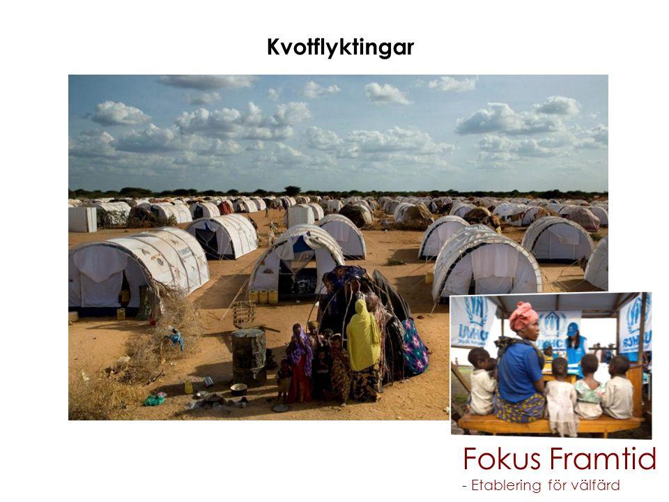 Fokus Framtid Kvotflyktingar - Etablering för välfärd Migrationsverket