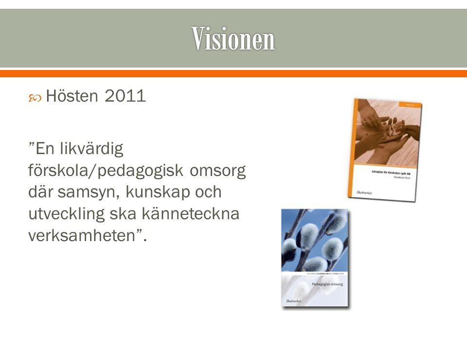 Visionen Hösten 2011.