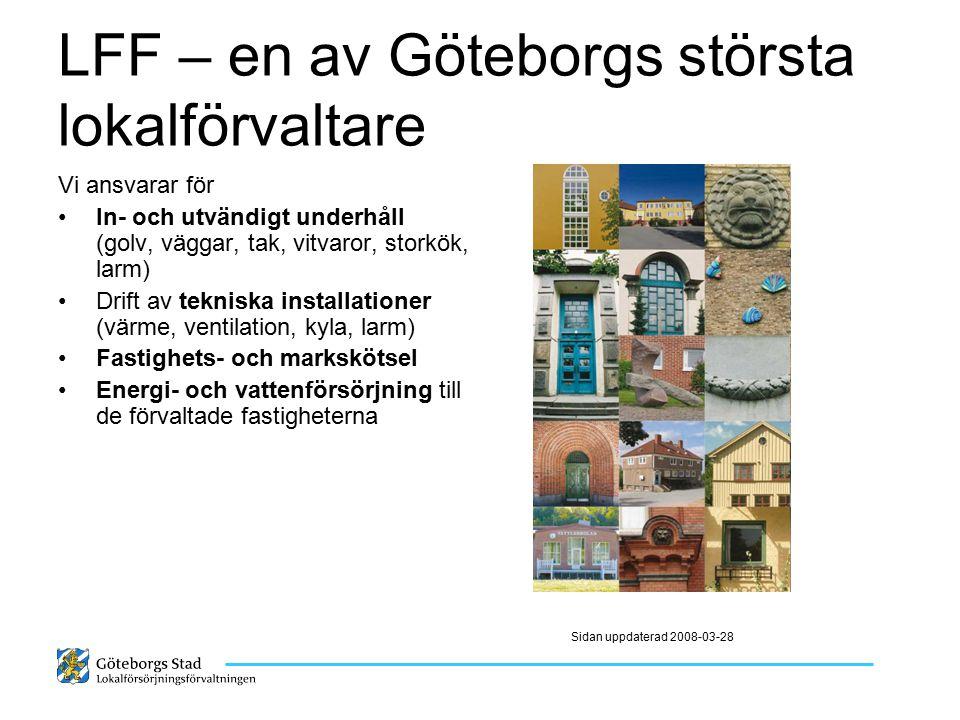 LFF – en av Göteborgs största lokalförvaltare