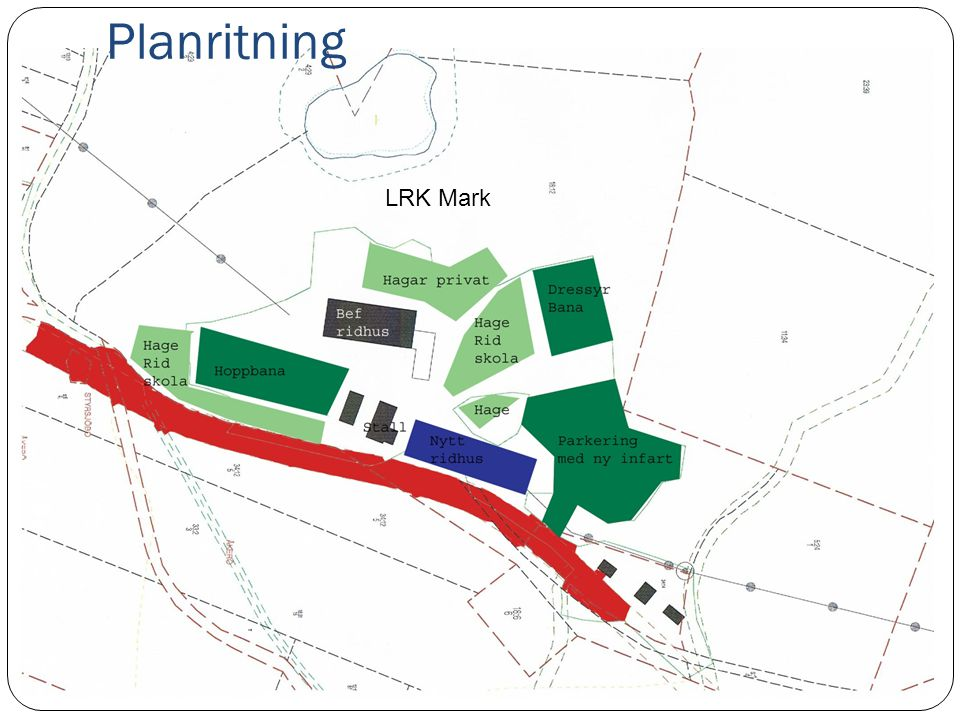 Planritning LRK Mark